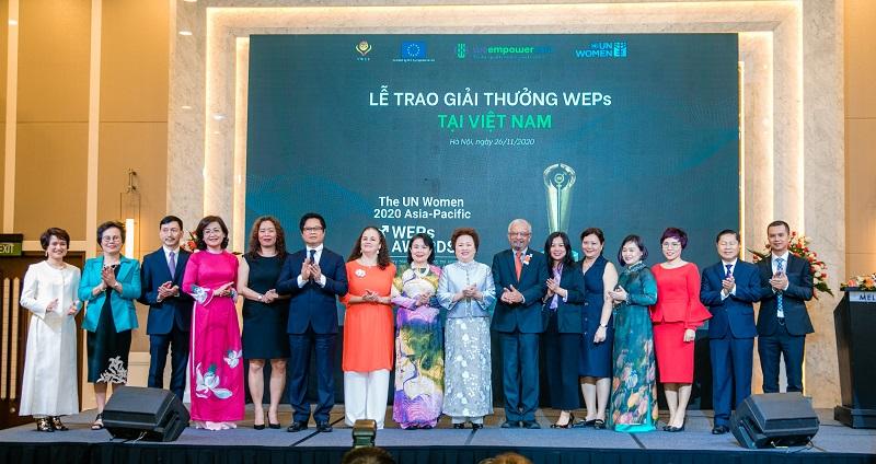 Lễ trao giải thưởng WEPs về bình đẳng giới tại Việt Nam (30/11/2020)