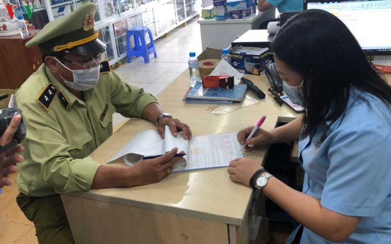 Hà Nội: Thu giữ 120.000 khẩu trang y tế không có nguồn gốc hợp pháp (6/2/2020)