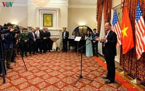 Đại sứ Việt Nam khởi động các hoạt động kỷ niệm 25 năm quan hệ ngoại giao Việt Nam – Hoa Kỳ (3/2/2020)