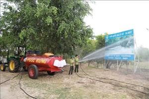 Đỉnh điểm mùa khô: Nam Bộ tiếp tục ứng phó với nguy cơ cháy rừng (30/3/2020)