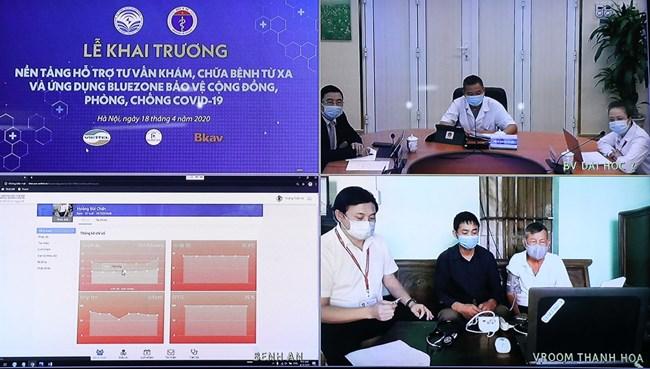 Hỗ trợ tư vấn khám chữa bệnh từ xa - bước tiến công nghệ trong lĩnh vực y khoa (20/4/2020)