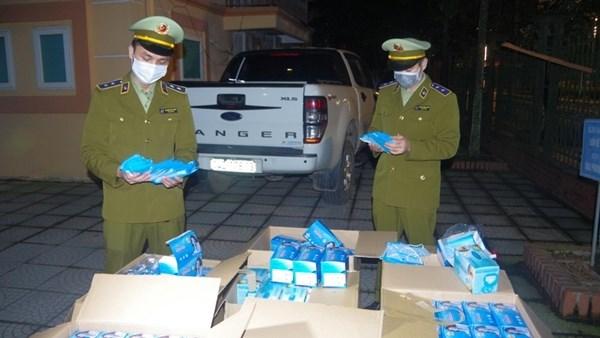 Thái Nguyên: Tịch thu lô khẩu trang gần 20.000 chiếc (16/4/2020)