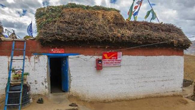 Bưu điện cao nhất thế giới nằm trên dãy núi Himalaya ở miền bắc Ấn Độ (11/4/2020)