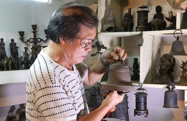 Nghệ nhân Lê Văn Khang, người giữ hồn đúc đồng thủ công truyền thống (17/4/2020)