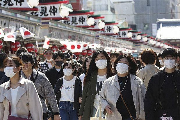 Số người nhiễm virus SARS-CoV-2 tại Tokyo, Nhật Bản, tăng kỷ lục trong ngày (8/4/2020)