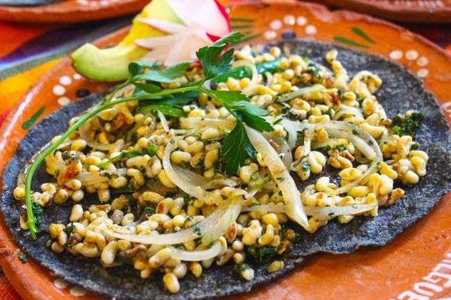 Khám phá món ăn trứng kiến đặc trưng của Mexico (30/5/2020)