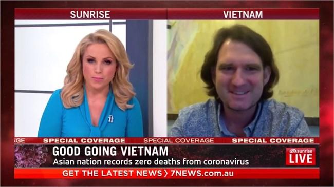 Kênh truyền hình  7news của Australia  ca ngợi thành công của Việt Nam trong chống dịch bệnh (25/5/2020)
