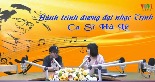 Ca sĩ Hà Lê với hành trình đương đại nhạc Trịnh. (27/06/2020)