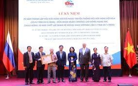 Hội Hữu nghị Việt – Nga nhận Huân chương Lao động hạng Nhì: thúc đẩy mối quan hệ truyền thống tốt đẹp giữa hai nước (29/6/2020)