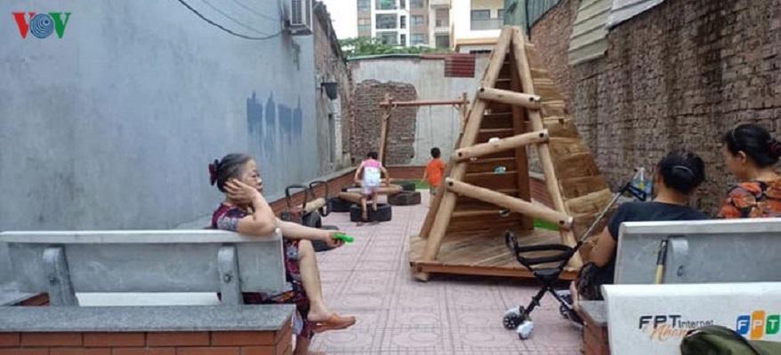 Cần hơn nữa những khu vui chơi trong phố cho trẻ em (28/6/2020)