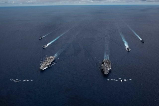 Nhật Bản ủng hộ tuyên bố của Mỹ về hành động phi pháp của Trung Quốc tại Biển Đông (14/7/2020)