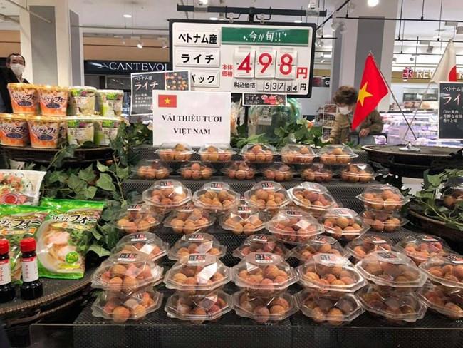 Giải pháp gia tăng giá trị nông sản nhìn từ việc XK thành công quả vải sang thị trường Nhật Bản (9/08/2020)