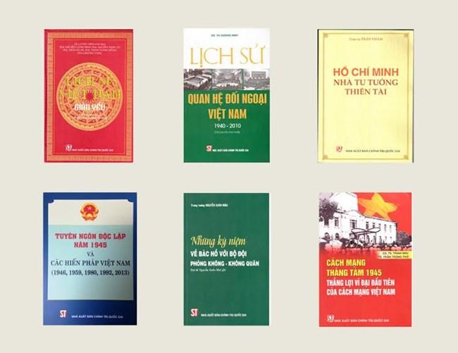 Chùm sách về cách mạng Việt Nam và Chủ tịch Hồ Chí Minh (19/8//2020)