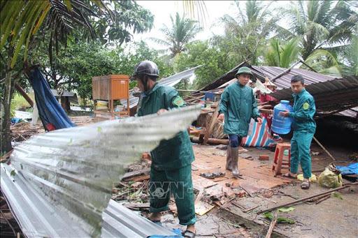 Thiệt hại và hoạt động khắc phục hậu quả do bão số 2 gây ra tại một số địa phương (5/8/2020)