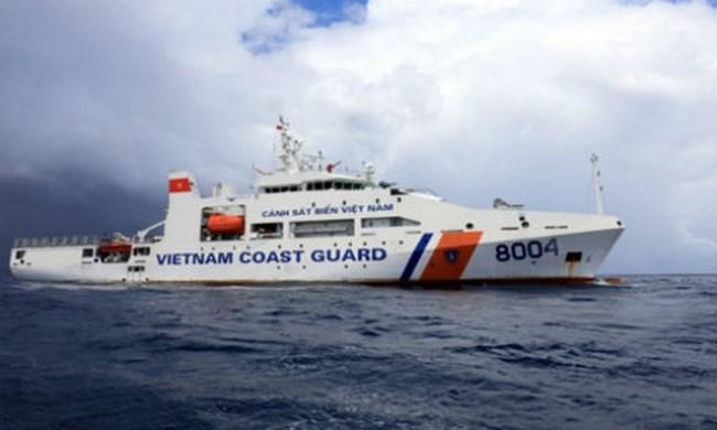 Tàu CSB8004 – thực hiện đối ngoại quốc phòng giữ vững môi trường hòa bình trên biển (12/9/2020)