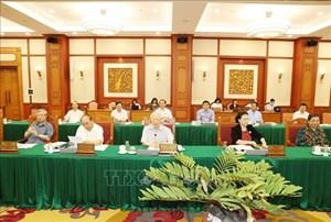 THỜI SỰ 12H TRƯA 3/9/2020: Tổng Bí thư, Chủ tịch nước chủ trì buổi làm việc với Ban Thường vụ Thành ủy TP Hồ Chí Minh.