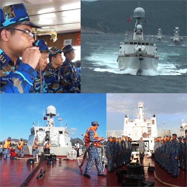 Tự hào chiến hạm hiện đại đầu tiên của Hải quân do Việt Nam sản xuất (09/10/2021)