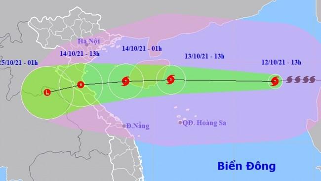 THỜI SỰ 18H CHIỀU 12/10/2021: Bão số 8 hiện cách quần đảo Hoàng Sa khoảng 530km