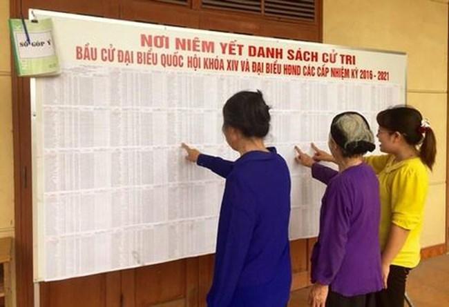 Giải đáp về cách thức lập danh sách cử tri (30/03/2021)