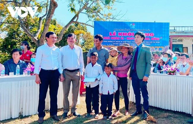 Học sinh Đắk Lắk góp sức xây Nhà nhân ái từ nguồn quỹ 1.000 đồng (15/3/2021)