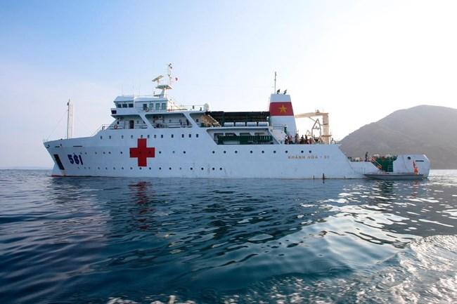 Tàu 561 - Bệnh viện di động giữa biển khơi (27/02/2021)