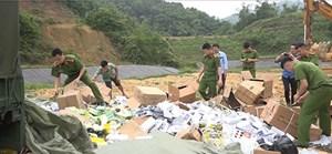 Lạng Sơn: Phát hiện nhiều chiêu thức tuồn hàng lậu vào nội địa (30/4/2021)