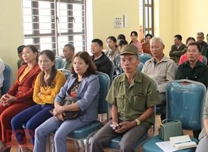 Bắc Giang tăng cường tiếp công dân, giải quyết đơn thư khiếu nại, tố cáo phục vụ bầu cử Đại biểu Quốc hội khóa 15 và Đại biểu HĐND các cấp nhiệm kỳ 2021- 2026. (16/4/2021)