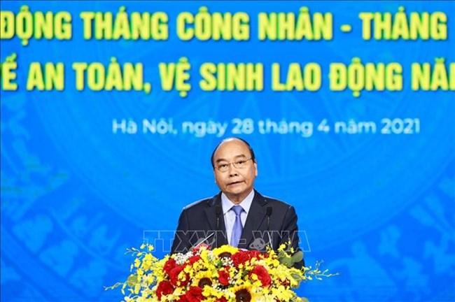 THỜI SỰ 12H TRƯA 28/4/2021: Chủ tịch nước Nguyễn Xuân Phúc dự Lễ kỷ niệm 135 năm Ngày Quốc tế Lao động.
