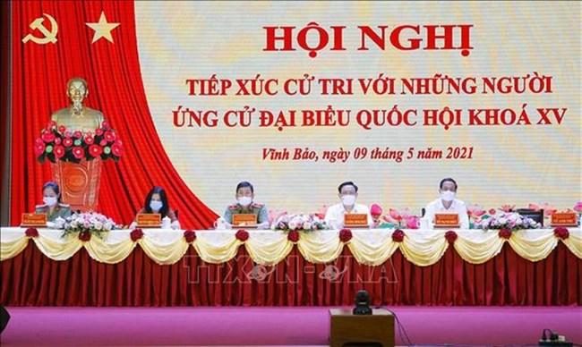 THỜI SỰ 12H TRƯA 11/05/2021: Chủ tịch QH Vương Đình Huệ và các ứng cử viên vận động bầu cử tại Hải Phòng.