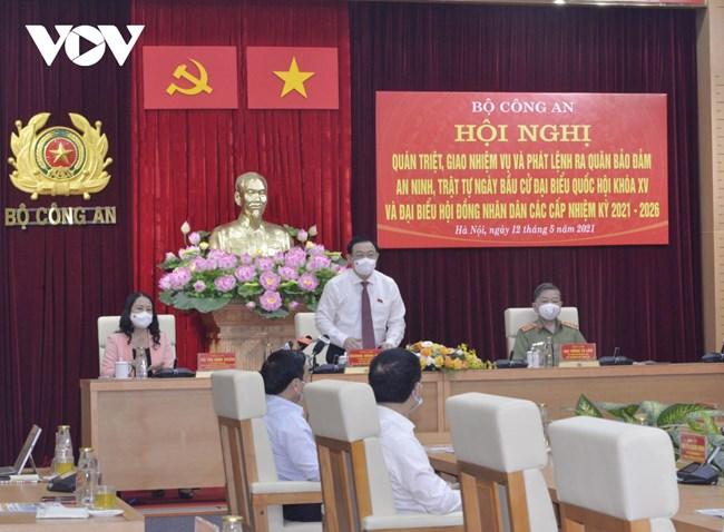 THỜI SỰ 18H CHIỀU 12/5/2021: CT QH Vương Đình Huệ dự Hội nghị quán triệt, giao nhiệm vụ và phát lệnh ra quân bảo đảm AN-TT ngày bầu cử.