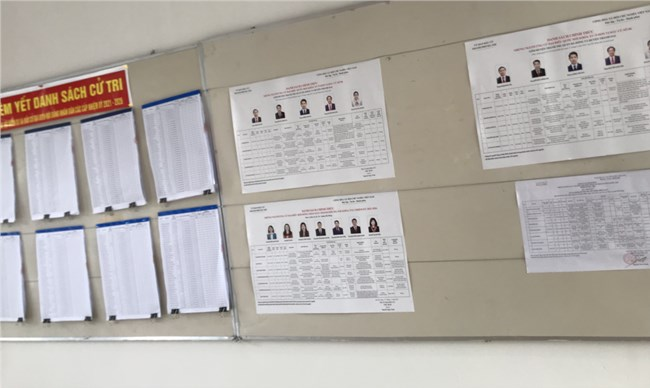 Chương trình hành động - bản cam kết của những người ứng cử Đại biểu Quốc hội (05/05/2021)