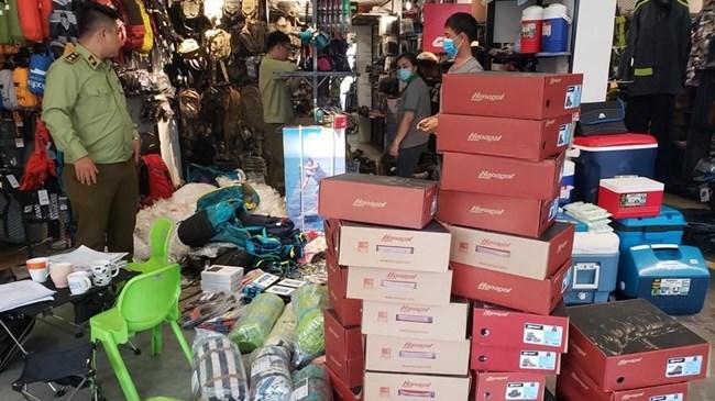 Đà Nẵng tạm giữ hơn 1.700 sản phẩm mỹ phẩm, thực phẩm chức năng không rõ nguồn gốc xuất xứ(07/05/2021)