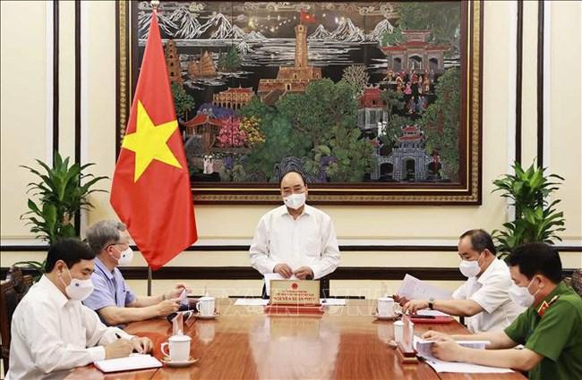 THỜI SỰ 18H CHIỀU 4/5/2021: Chủ tịch nước Nguyễn Xuân Phúc họp đánh giá việc triển khai Luật Đặc xá 2018.