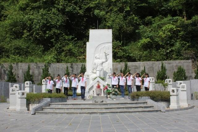 Thăm khu di tích lịch sử Kim Đồng - nơi Đội thiếu niên tiền phong được thành lập (14/5/2021)