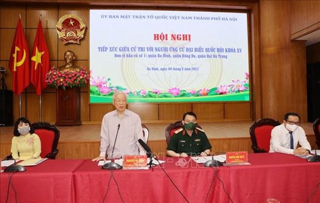 THỜI SỰ 12H TRƯA 08/05/2021: TBT Nguyễn Phú Trọng, Thủ tướng Phạm Minh Chính tiếp xúc cử tri, vận động bầu cử ĐBQH khóa XV.