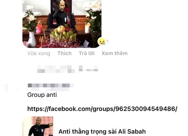 Thấy gì từ việc CĐV quá khích tấn công trang facebook cá nhân trọng tài chính bắt trận Việt Nam  - UAE (19/06/2021)