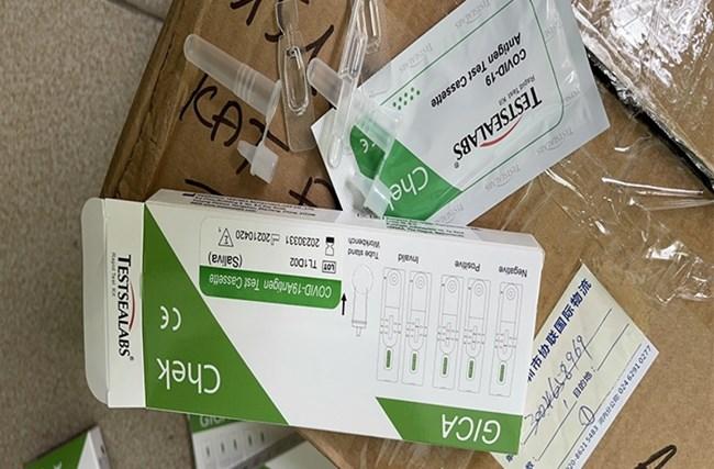QLTT Hà Nội: Phát hiện và xử lý cơ sở đầu tiên kinh doanh bộ thử nhanh Covid-19 (08/06/2021)