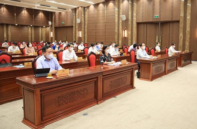 """THỜI SỰ 21H30 ĐÊM 12/06/2021: Hội nghị chuyên đề toàn khóa """"về học tập và làm theo tư tưởng, đạo đức phong cách Hồ Chí Minh""""  trực tuyến với hơn 6 nghìn điểm cầu ở 3 cấp trên toàn quốc."""