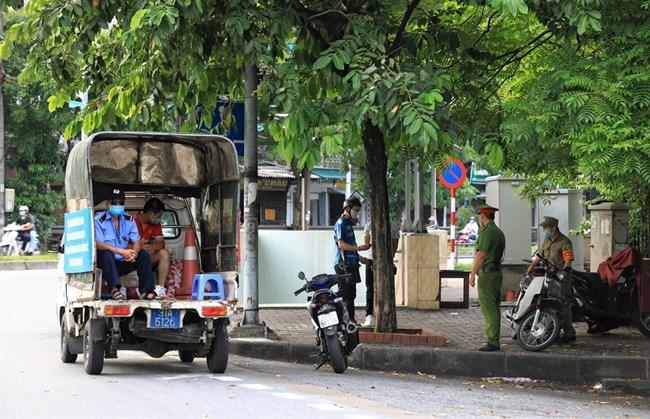 Hà Nội tăng cường xử lý các trường hợp vi phạm phòng, chống dịch (26/7/2021)