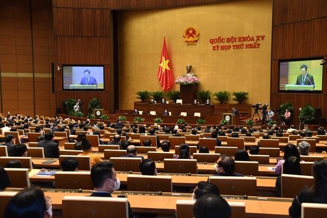 Kỳ họp thứ nhất, QH khóa XV- Kỳ họp đặc biệt (28/7/2021)