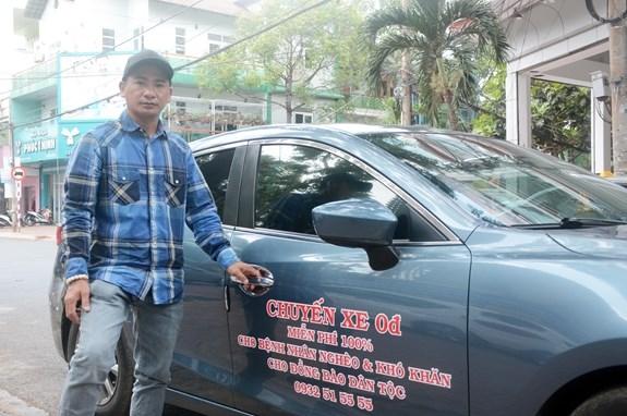 """Anh Nghĩa và """"Chuyến xe 0 đồng"""" ở Đắk Lắk (05/07/2021)"""