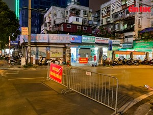 Thủ đô Hà Nội hỏa tốc áp dụng nhiều biện pháp mạnh phòng dịch Covid-19 (Ngày 25/07/2021)
