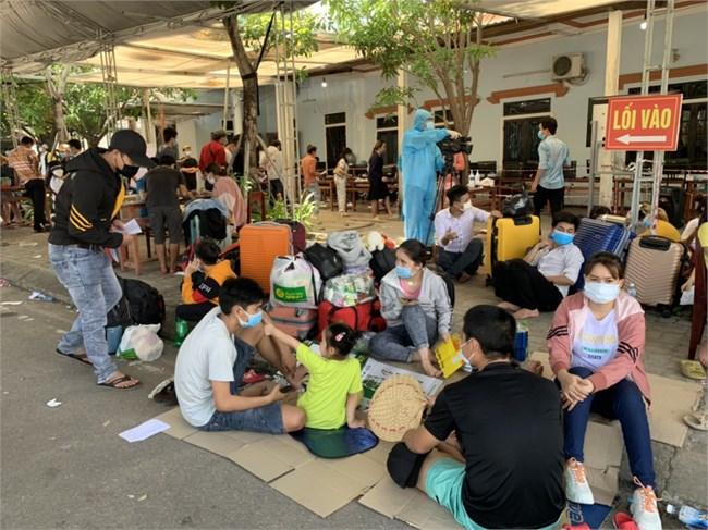 Thừa Thiên Huế: Đảm bảo an toàn cho người dân từ các tỉnh phía nam về Huế (28/07/2021)