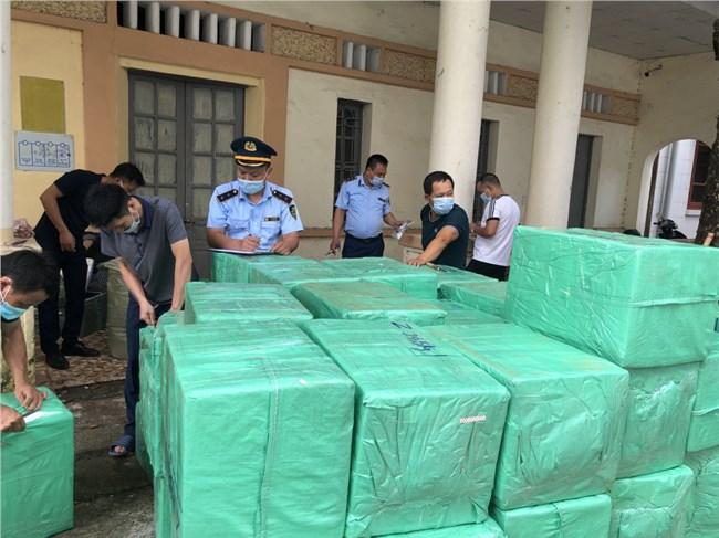 Lạng Sơn: QLTT ngăn chặn 39.000 ốp điện thoại có dấu hiệu giả mạo nhãn hiệu Sam Sung (29/07/2021)