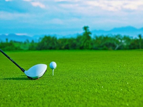 Mô hình sân golf mini giáo dục về bảo vệ môi trường ở New York, Mỹ (25/07/2021)