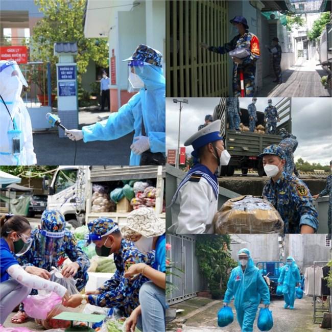 Phóng viên lính biển tác nghiệp trong tâm dịch Covid19 (18+19/09/2021)