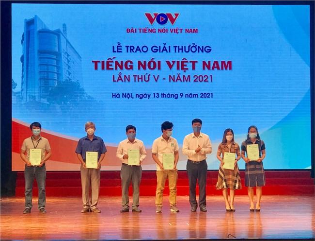 VOV trao Giải thưởng Tiếng nói Việt Nam năm 2021 (13/9/2021)