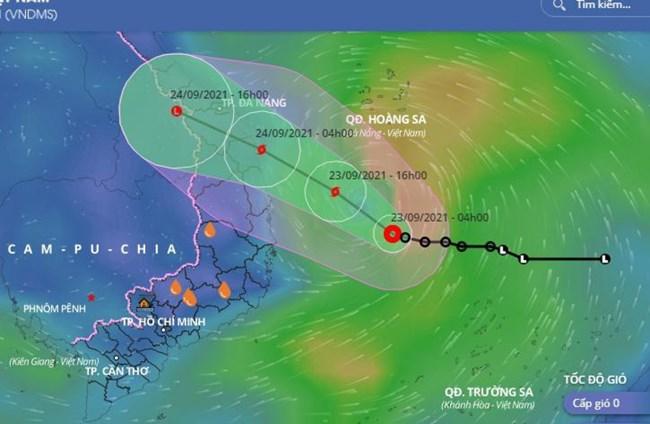 THỜI SỰ 21H30 ĐÊM 23/9/2021: Dự kiến đêm nay, rạng sáng mai, bão số 6 đổ bộ đất liền, gây ngập lụt cho nhiều địa phương tại miền Trung