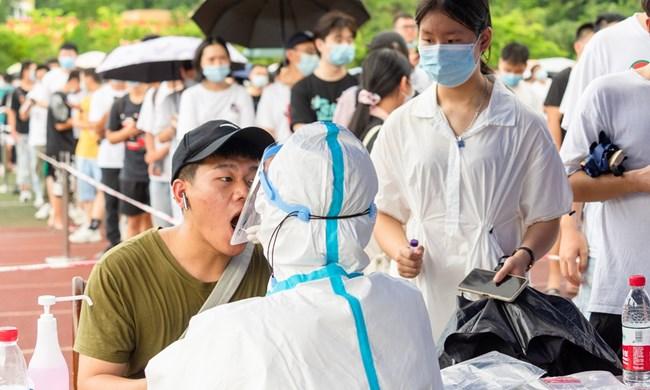 Trung Quốc: xét nghiệm tất cả trường học ở Phúc Kiến vì Covid-19 (13/9/2021)