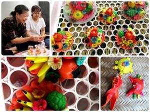Nghệ nhân duy nhất ở Hà thành giữ nghề làm hoa quả bằng bột (21/9/2021)